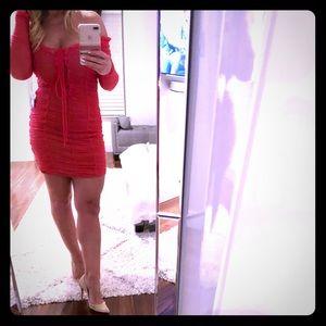 Majorelle pink dress